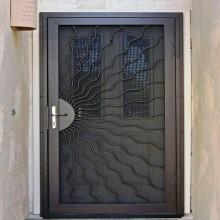 porte Métalliques vitre