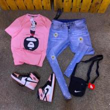 Habit pantalon chaussures et sac