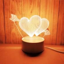 Lampe LED 3D