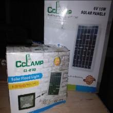 Projecteur solaire 30W autonome
