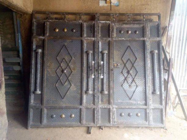 grande portail blindé