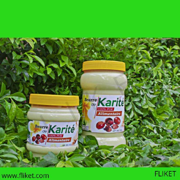 Beurre de karité comestible